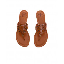 """Camel colored toe thong mules """"Miller"""" Tory Burch for women"""