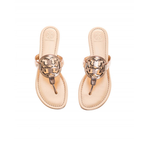 Achat Pink golden toe thong mules Miller Tory Burch for women - Jacques-loup