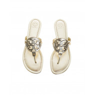 "Golden colored toe thong mules ""Miller"" Tory Burch for women"