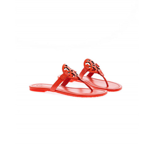 "Red toe thong mules ""Miller"" Tory Burch for women"