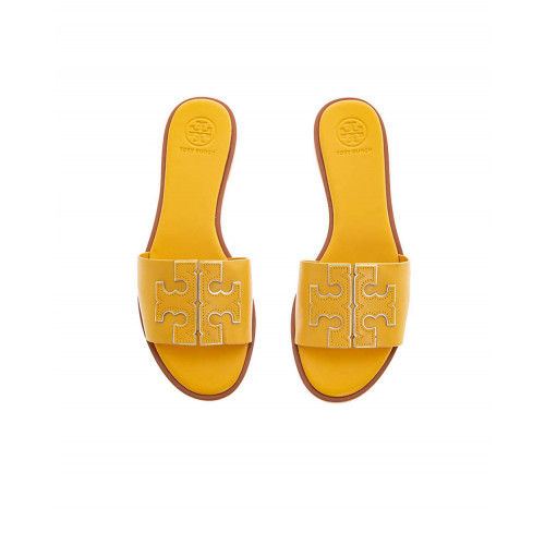 "Yellow mules ""Inès"" Tory Burch for women"