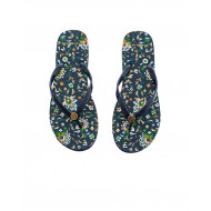 Achat Navy blue flip-flops Tory Burch for women - Jacques-loup