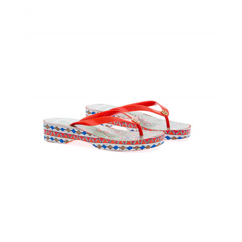 Multicolor platform flip-flops Tory Burch for women