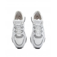 "White and grey sneakers ""T-Run"" Tod's for men"
