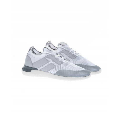 Achat White and grey sneakers Maglia Sportivo Tod's for men - Jacques-loup