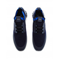 "Navy blue sneakers ""Maglia Sportivo"" Tod's for men"