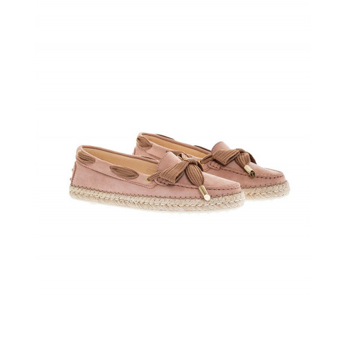 Achat Pink moccasins - rope-soled sandals Tod's for women - Jacques-loup