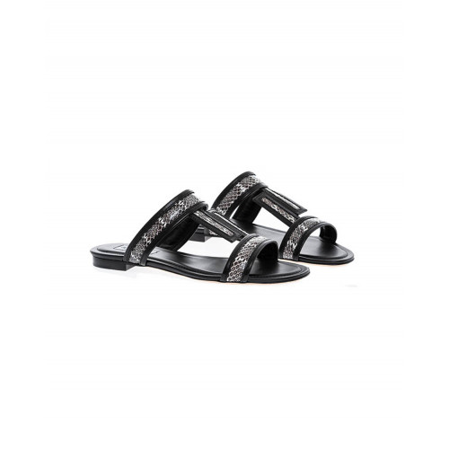 Achat Black mules with snake Tod's for women - Jacques-loup