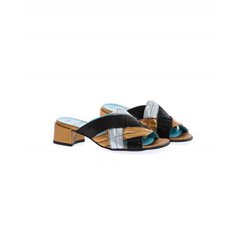 Multicolored soft mules Thierry Rabotin for women