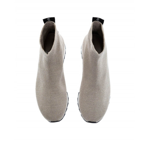 Sand colored shoe sock Philippe Model for women