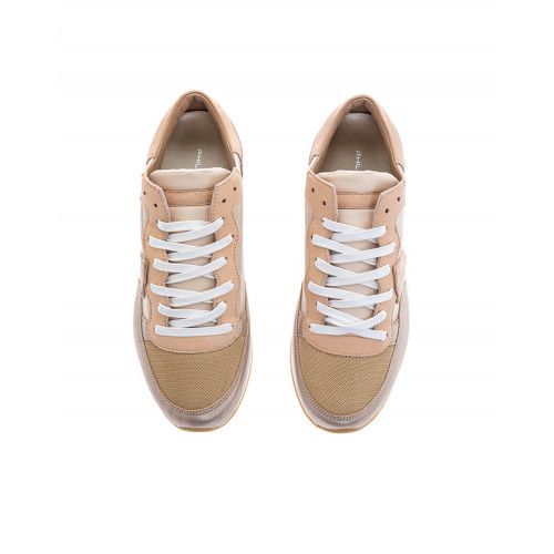 Achat Metal pink sneakers Tropez Philippe Model for women - Jacques-loup