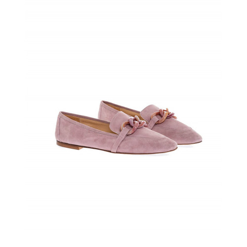 Achat Lilac moccasins with bakelite bit Jacques Loup for women - Jacques-loup
