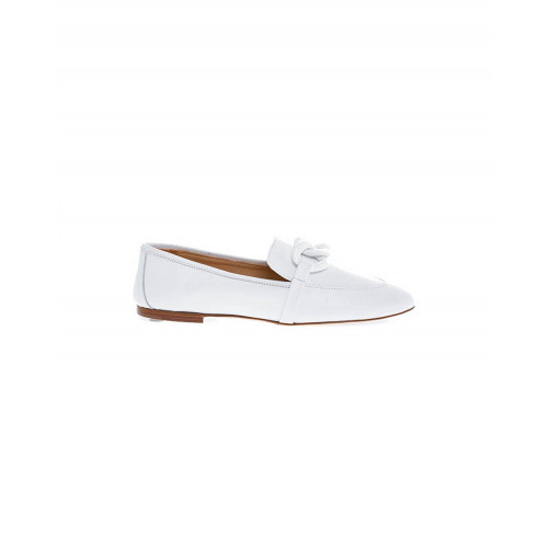 Achat White moccasins with bakelite bit Jacques Loup for women - Jacques-loup
