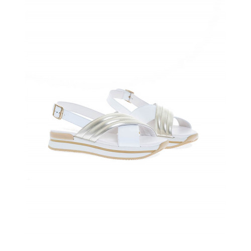 "Sandals Hogan ""222"" white for women"