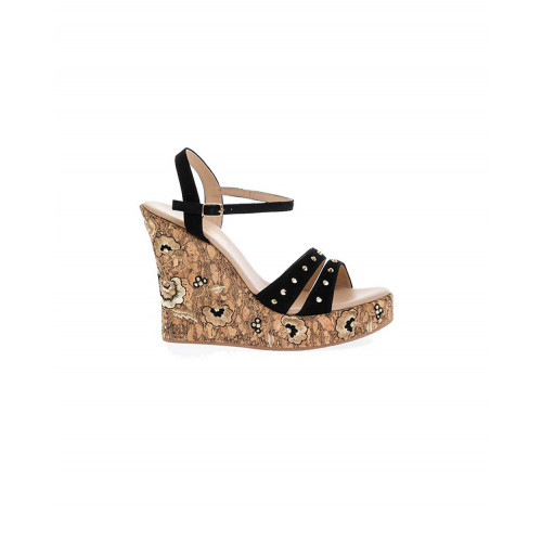 Achat Black platform sandals with decorative nails Fernando Pensato for women - Jacques-loup