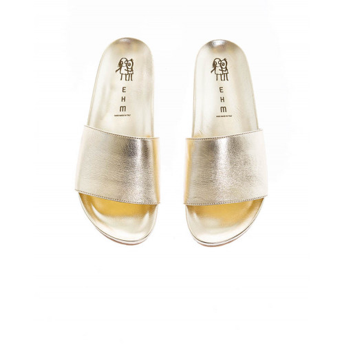 Gold colored mules Jacques Loup for women