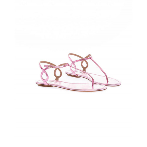 Pink thong sandals Aquazurra for women