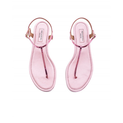 Achat Pink thong sandals Aquazurra for women - Jacques-loup