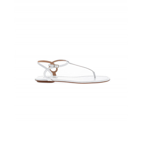 Achat White thong sandals Aquazurra for women - Jacques-loup