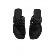 Achat Black asymmetric mules Jacques Loup for women - Jacques-loup