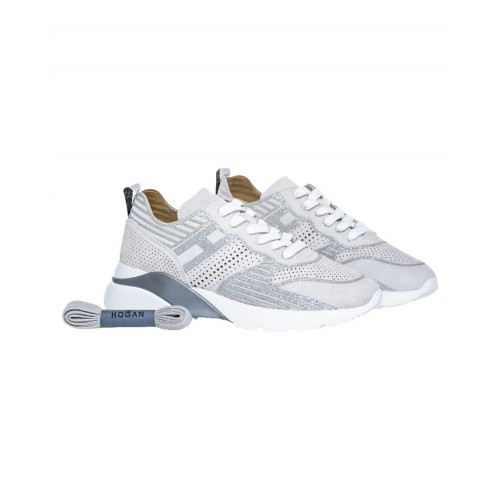 Achat Grey and silver sneakers Hogan Active One for women - Jacques-loup