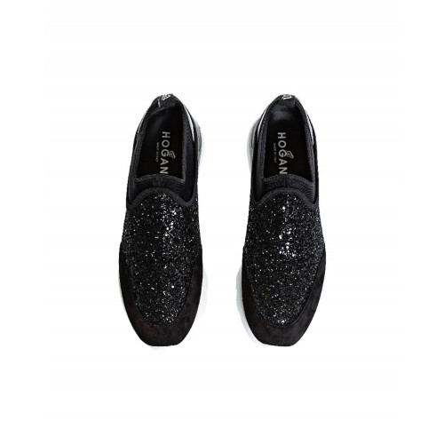 "Black slipper sneakers ""Active One"" Hogan for women"