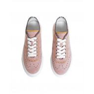 "Pink sneakers ""Cassetta"" Hogan for women"