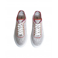 "Grey sneakers ""Cassetta"" Hogan for women"
