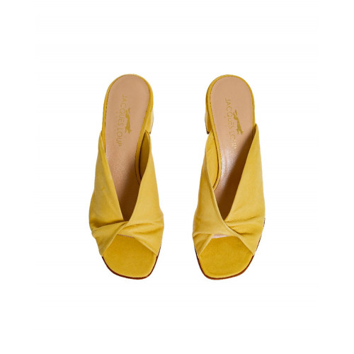 Achat Yellow draped mules Jacques Loup for women - Jacques-loup