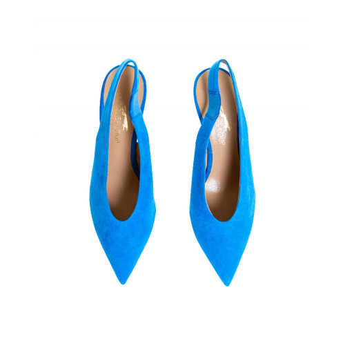 Achat Blue mules with pointed tip Jacques Loup for women - Jacques-loup