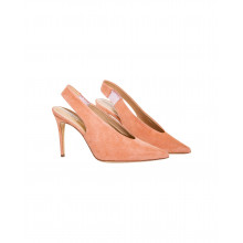 Light pink mules with pointed tip Jacques Loup for women