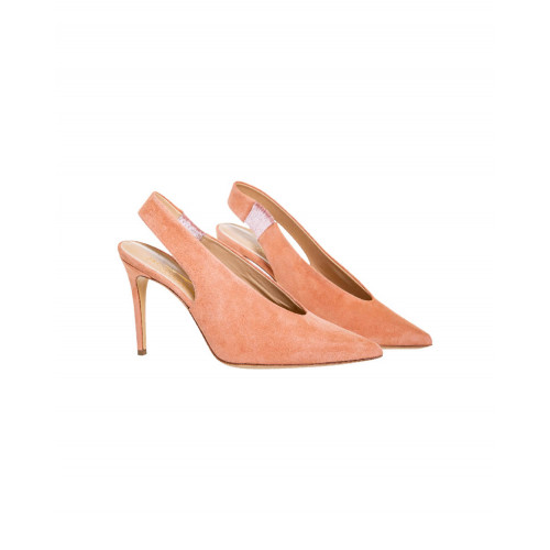 Achat Light pink mules with pointed tip Jacques Loup for women - Jacques-loup