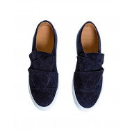 Achat Navy blue slip-on shoes Mai Mai for women - Jacques-loup