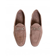 Achat Beige moccasins with silver metallic bit Jacques Loup for men - Jacques-loup