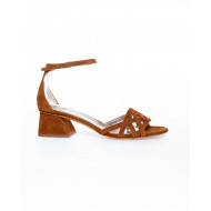 Cognac colored sandals Jacques Loup for women