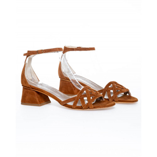Achat Cognac colored sandals Jacques Loup for women - Jacques-loup