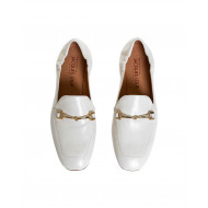 Achat White moccasins with metallic bit Mara Bini for women - Jacques-loup