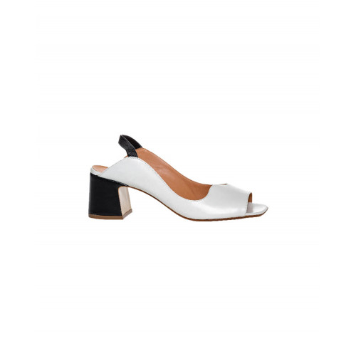 Achat Ivory and black sandals Mara Bini for women - Jacques-loup