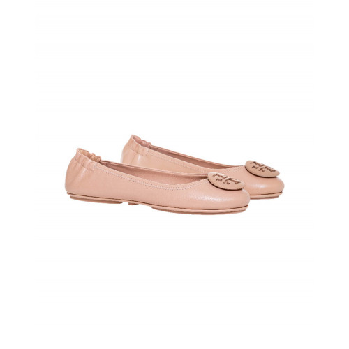 Achat Ballerinas Tory Burch Minnie Travel Ballet beige for women - Jacques-loup