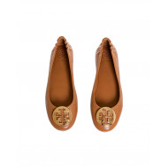 """Camel colored ballerinas """"Minnie Travel Ballet"""" Tory Burch for women"""