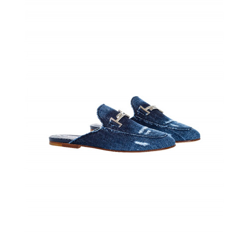 Achat Dark blue denim mules Tod's for women - Jacques-loup