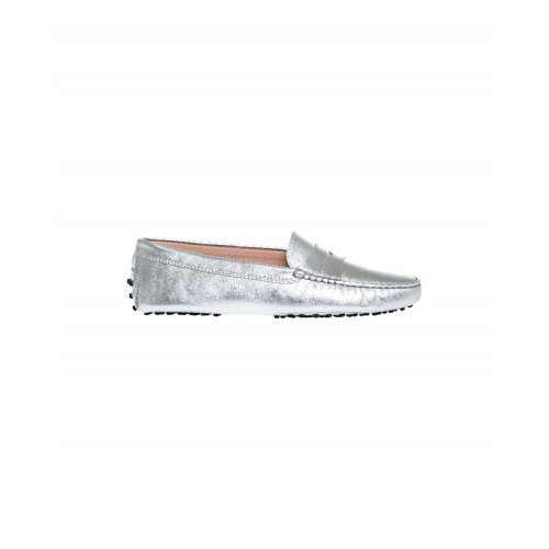 Achat Silver moccasins with penny strap Tod's for women - Jacques-loup
