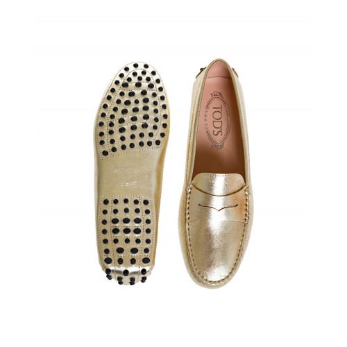 Achat Golden moccasins with penny strap Tod's for women - Jacques-loup