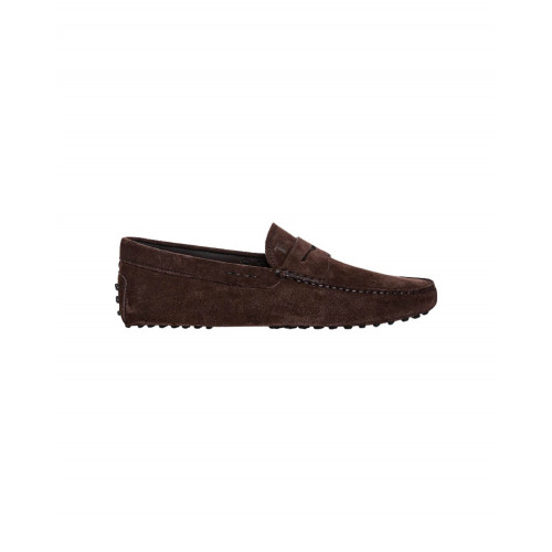Brown moccasins with penny strap Tod's for men