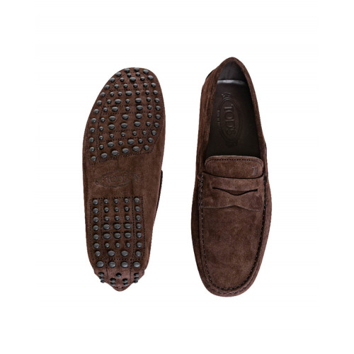 Achat Brown moccasins with penny strap Tod's for men - Jacques-loup