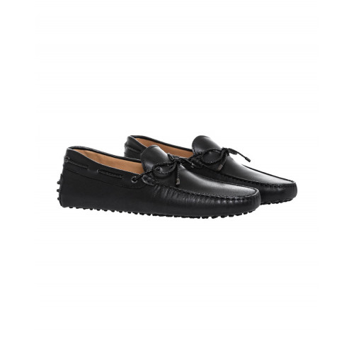 Achat Black moccasins with plated shoelace Tod's for men - Jacques-loup