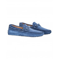 Blue jean moccasins with shoelaces Tod's for men