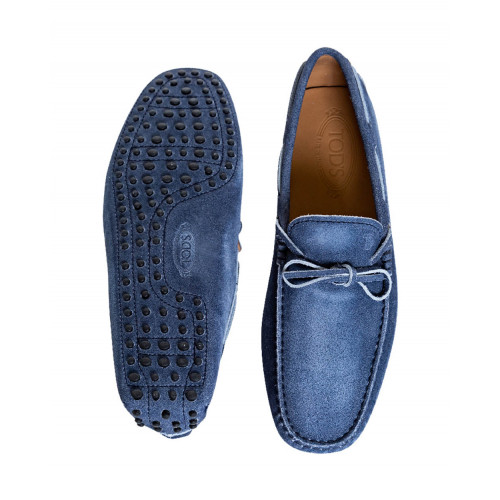Achat Blue jean moccasins with shoelaces Tod's for men - Jacques-loup