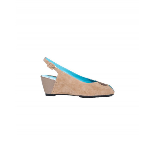 Achat Beige and taupe cut shoes Thierry Rabotin for women - Jacques-loup