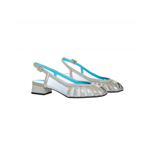 Achat Light gold open toe sandals Thierry Rabotin for women - Jacques-loup